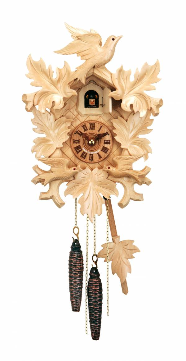 Natural finish Cuckoo clock