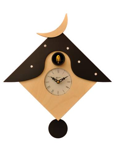 Cucu Otranto, Cuckoo clock natural finish