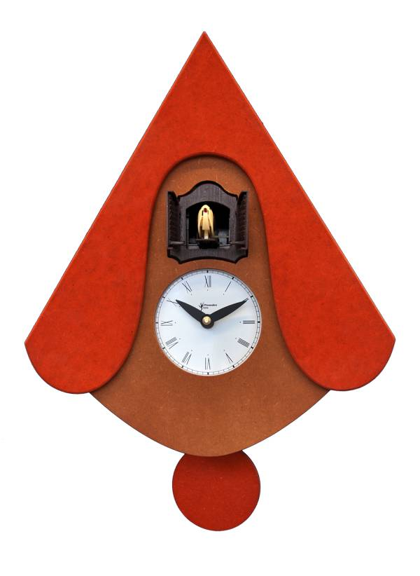 Cucu New, orange Cuckoo clock